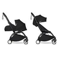 BABYZEN YOYO2 COMPLETE Stroller with Newborn Set - Black Frame Black