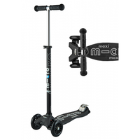 Micro Scooter Maxi Deluxe Black/White