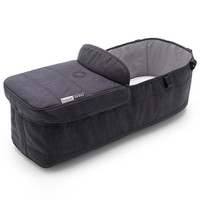 Bugaboo Doneky 3 Bassinet Fabric Set - Black/Mineral Washed Black