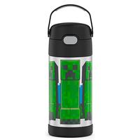 Thermos FUNtainer 12 oz Straw Bottle - Minecraft