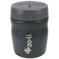 Zoli Inc. POW DINE Stainless Steel Insulated Food Jar - Grey