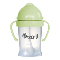 Zoli Inc. BOT 6 oz. Weighted Straw Sippy - Sage Green