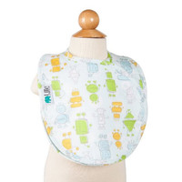 Bebe Au Lait Lille Collection Quadruple Bib - Robots