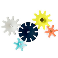Boon Cogs Building Bath Toy Set Navy