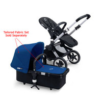 Bugaboo Buffalo Base - Aluminum/Black with Faux Leather