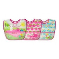 i play. Wipe-Off Bibs - 3 pack - Pink Picnic Set