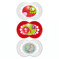 MAM Night & Day Silicone Pacifier 3pk - 6+ Mon