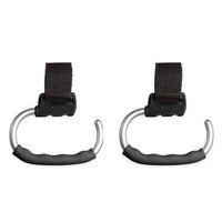 OXO TOT Handy Stroller Hook - 2 Pack - Grey