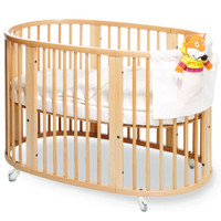 STOKKE Sleepi Crib and Mattress Natural