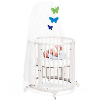 STOKKE Sleepi Mini Bundle with Mattress - White