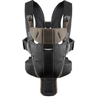 Baby Bjorn Baby Carrier Miracle Organic Cotton - Black/Brown