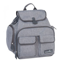 babymoov Glober Changing Bag - Smokey/Heather Gray