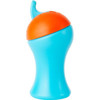 Boon Swing Tall Flip Top Sippy Cup - Blue+Orange