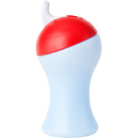 Boon Swing Tall Flip Top Sippy Cup - Light Purple+Red