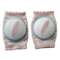 Crawlings Baby Knee Pad - Little Pale Feather