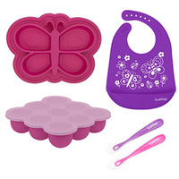 Kushies SiliSet All-In-One Silicone Gift Set - Girl