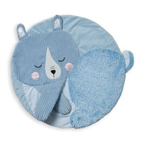 Manhattan Toy Travel + Comfort Tactile Play Mat - Bear