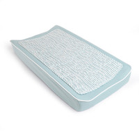 Oilo Changing Pad Cover & Topper - Aqua