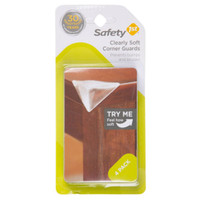 Safety 1st Clearly Soft Corner Guards - 4 Pack