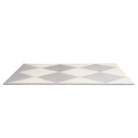 Skip Hop Playspot Geo - Interlocking Foam Tiles - Grey/Cream