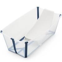 STOKKE Flexi Bath Heat Sensitive Tub + Newborn Support - Transparent Blue_thumb1