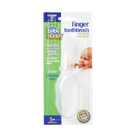 Baby Buddy Finger Toothbrush with Case - Clear