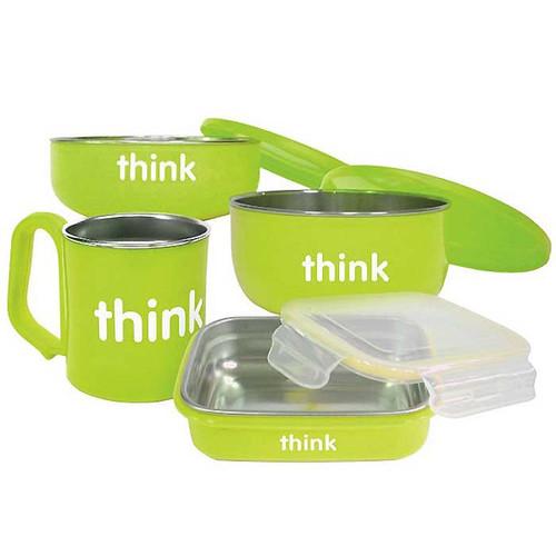 ThinkBaby The Complete BPA Free Feeding Set - Light Green