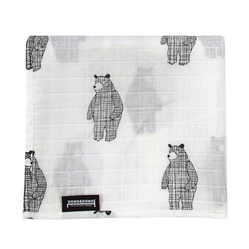 Innobaby Dono&Dono Light Muslin Cuddle Blanket - Big Bear