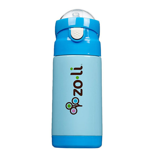 Zoli Inc. D.LITE Insulated Straw Bottle 10 oz - Blue