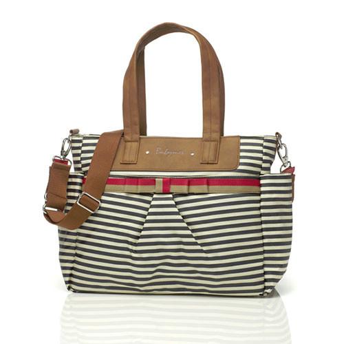 Babymel Cara Diaper Bag - Navy Stripe