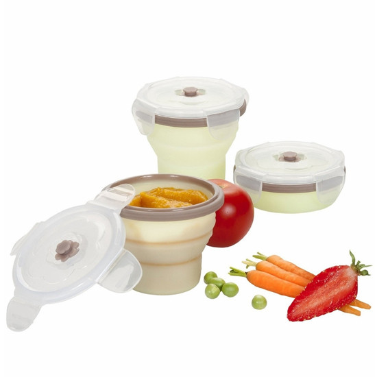 babymoov Silicone Container Set - 3 Pack-2