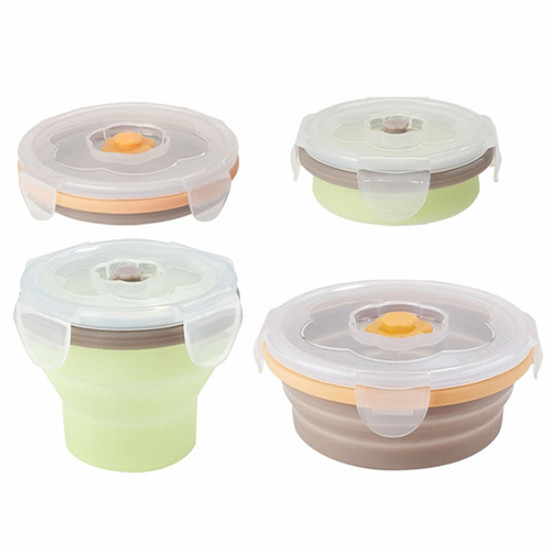 babymoov Silicone Container Set - 4 Pack