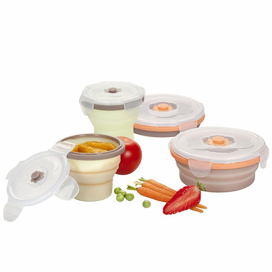 babymoov Silicone Container Set - 4 Pack-2
