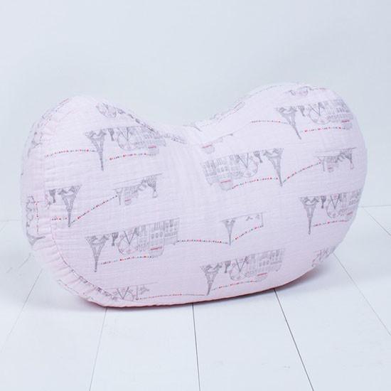 Bebe Au Lait Sophie la girafe Comfort Design Nursing Pillow - Carousel Pink