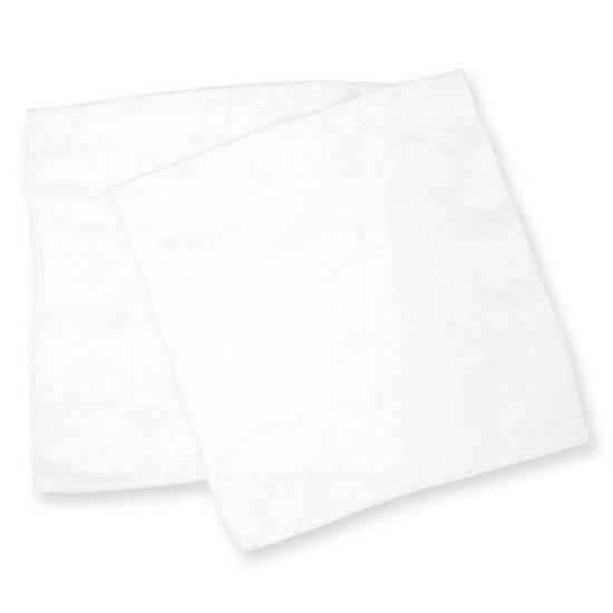 Bradcal Baby Gauze Handkerchief 10pk - White