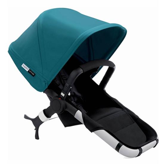 Bugaboo Runner Jogging Stroller Seat - Black/Petrol Blue