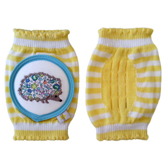 Crawlings Baby Knee Pad - Lemonchello Porcupine -2