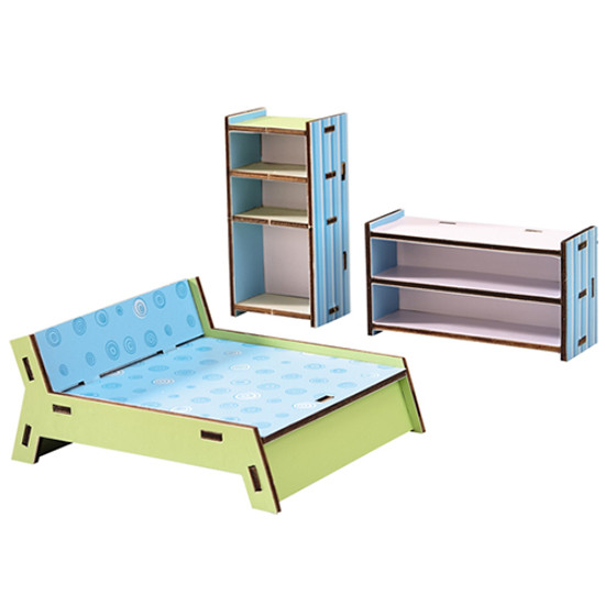 HABA Dollhouse Bedroom Furniture