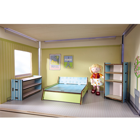 HABA Dollhouse Bedroom Furniture-2