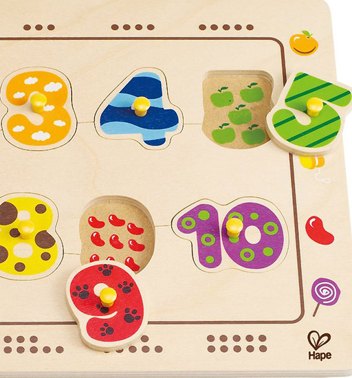 Hape Numbers Matching Puzzle-2