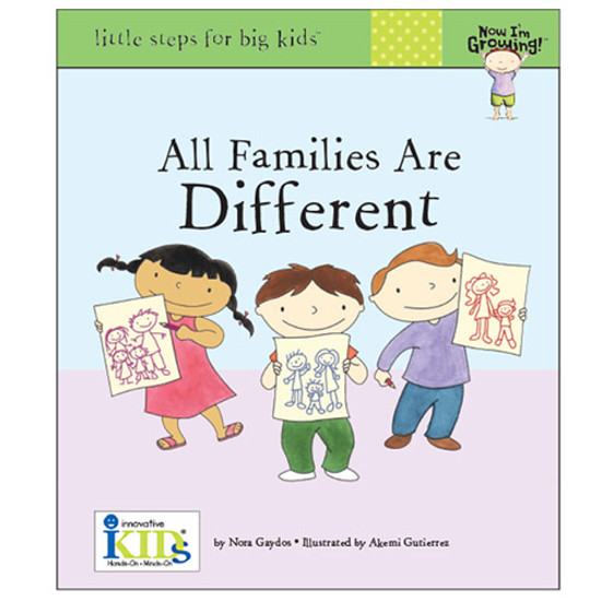 innovativeKids All Families are Different Book