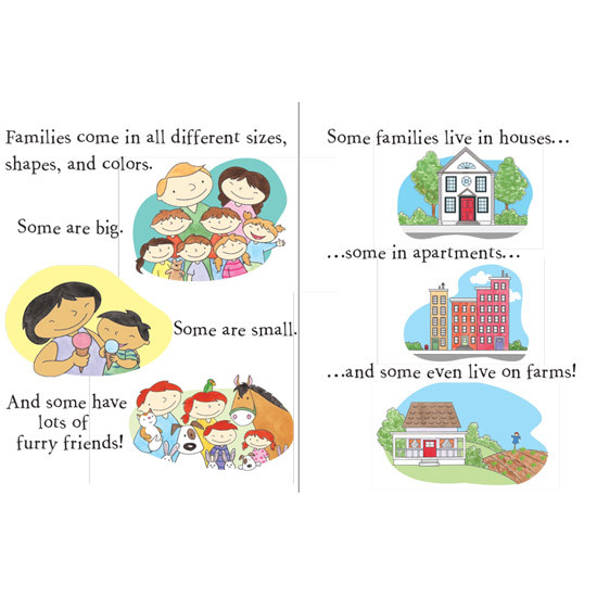 innovativeKids All Families are Different Book-2