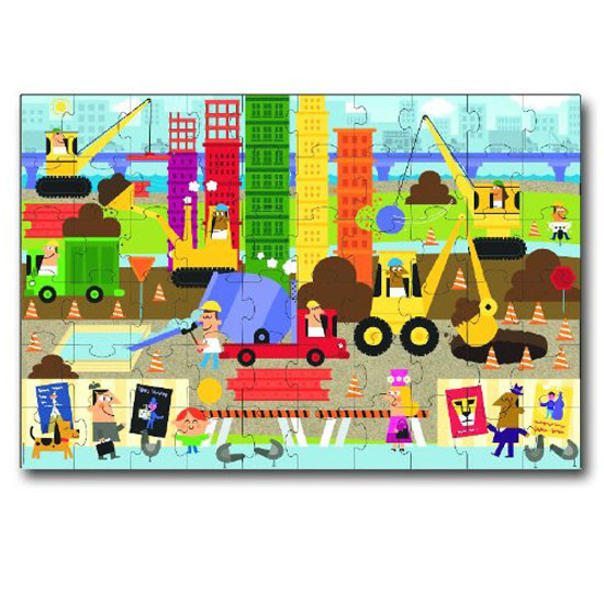innovativeKids Giant Floor Puzzle - Big Builder-2