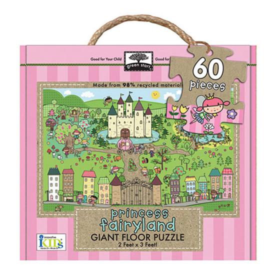 innovativeKids Giant Floor Puzzle - Princess Fairyland