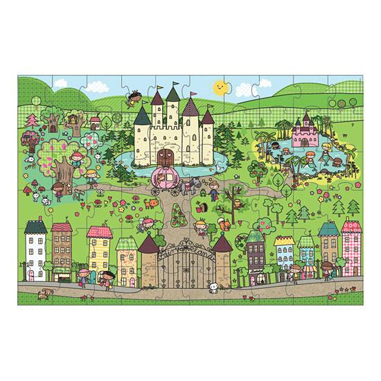 innovativeKids Giant Floor Puzzle - Princess Fairyland-2