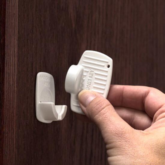 KidCo Adhesive Mount Magnet Lock-4 Lock Set