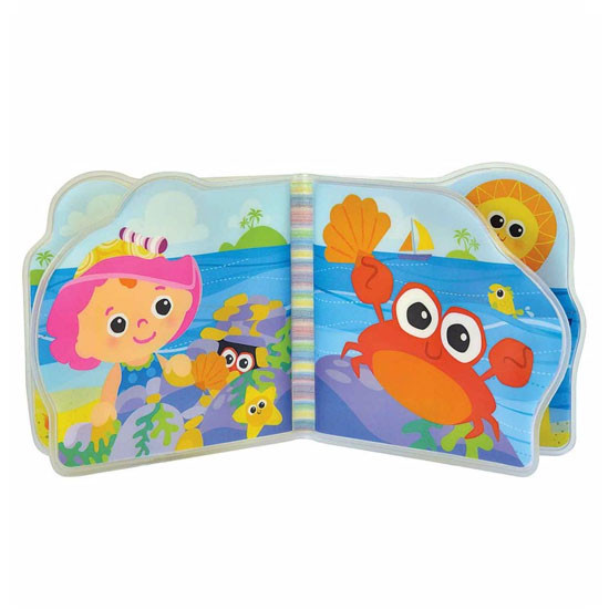 Lamaze Bath Book - My Friend Emily-2