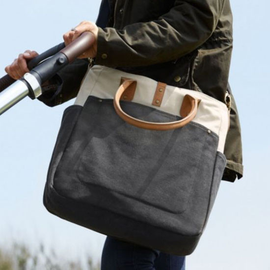 Mamas & Papas Orlie Changing Bag - Charcoal Grey-2