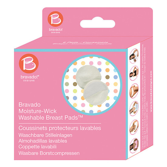 Medela Moisture-Wick Washable Breast Pads-2