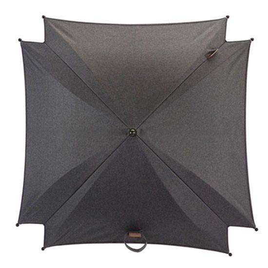 Silver Cross Wave Stroller Parasol - Granite -2